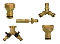 Brass Rubber Pipe FITTING