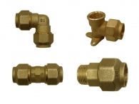 Brass Accessories for Pipes PE-PP-PVC