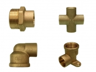 Brass Accessories for Copper Pipes