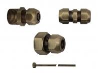 Accessories and Bronze Copper Pipe D10