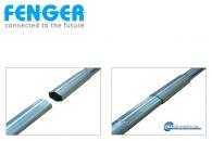 4.0.- 4.5m Plug-in, Ιστός εγκατάστασης κεραίας, Galvanized steel