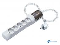 ACAR XProtector Multi-Socket  Πολύπριζο Ασφαλείας με Προστασία Υπέρτασης