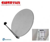 OP-125L, Κάτοπτρο δορυφορικής λήψης Offset, 124.5x133.5cm