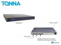 Tonna VISILAN 19'' Rack Module with 16 outputs RJ45