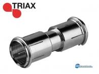 Triax RMF-75 Coaxial Adaptor 3 GHz Ομοαξονικός προσαρμογέας Quick F-αρσενικό σε Quick F-αρσενικό, DC έως 3 GHz 10 τεμάχια