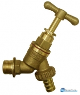 ENGLISH TAP 1/2'' WITH HOSE BRAZEN