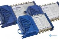 Πολυδιακόπτης για λήψη από 1 δορυφορική θέση + επίγεια TV (5 εισόδων / 8-12-16 χρηστών)