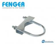 Σφιγκτήρας ιστού 120 - 150mm, Galvanized steel