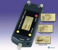 Πεδιόμετρο DigiSat PRO ACCU για μετρήσεις δορυφορικών σημάτων