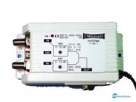 Κεντρικός ενισχυτής για επίγεια και δορυφορικά κανάλια μόνο για ένα δέκτη