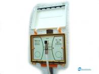 Κεραία εξωτερική πολυ μικρού μεγέθους,τεχνολογίας πλακέτας σε στεγανή κατασκευή για TV και FM
