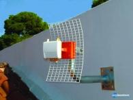 Κεραία εξωτερική πολυ μικρού μεγέθους με ενισχυτή 20 dB ,τεχνολογίας πλακέτας σε στεγανή κατασκευή για TV και FM DIGI