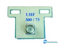 Μετασχηματιστής  UHF ΜΕ ΒΥΣΜΑΤΑ F. 300/75 Ω