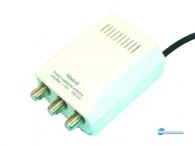 Τροφοδοτικό θωρακισμένο παλμοτροφοδοτικό με ενισχυτή 6-10 dB κατάλληλο για ενισχυτές κεραίας και κεραίες MMDS