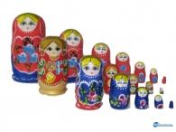 Ματριόσκα - Παραδοσιακό Ρωσικό Σουβενίρ