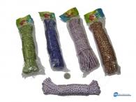 Σχοινί υφασμάτινο σε διάφορους χρωματισμούς