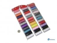 Κλωστές πολύχρωμες σετ 12 τεμάχια