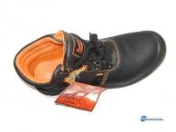 Παπούτσια ασφαλείας .Κατάλληλα για εργασία σε εργοστασιακούς χώρους.Με πλάκα μετάλλου για προστασία τραυματισμό από πτώση αντικειμένου  .Διάφορα νούμερα