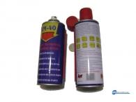 Αντισκουριακό λιπαντικό σπρέι  γενικής χρήσης ΑΜ-40. Με φορητό σωληνάκι ψεκασμού.
