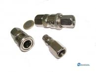 Αντάπτορες σύνδεσης λάστιχου πίεσης αέρα με εσωτερικό σπείρωμα .