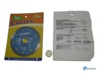 Δίσκος κοπής πλακιδίων Φ115mm Turbo.Προσαρμόζεται σε γωνιακό τροχό.